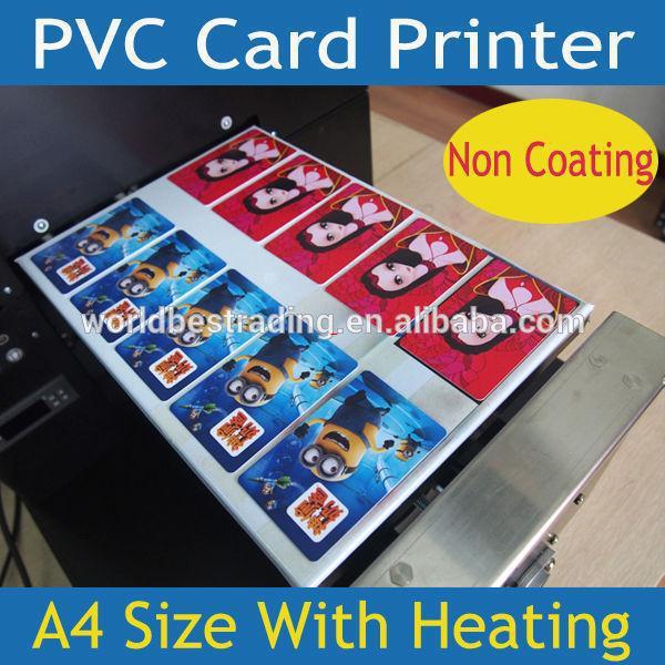 [K-PRINT] 6 Years Experience-Multi-Purpose Printer-Plastic PVC Card ID Card Printer 10PCS/Print Non Coating Card Printer Flatbed(China (Mainland))