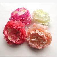 100Pcs/bag 8-9CM  Stylish Fabric  Artificial Flowers Rose Wedding Home Decorations Event Party Supplies Dress Decor Flowers