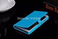 Free Shipping Original Xiaomi M4 Leather Case Stand Case Xiaomi Mi4 M4 PU Leather Flip Cover Case Gift Screen Protector