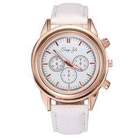 Hot Selling Wholesale Women Casual Pu Leather Wristband Wristwatch Quartz Watch Clock Lady Gift Free Shipping Sr017