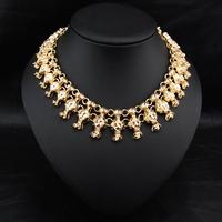 Aliexpress Wholesale Fashion Brand Jewelry Vintage Costume Women Bijoux Party Statement Choker Collars Necklace