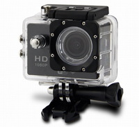 Sports DV DV200 WIFI Sports Action Camera Diving 30M Waterproof 1080P FHD H.264 Underwater Sport Camcorder Gopro style - Black