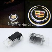 2pcs Ghost Shadow Logo welcome Car LED Door Light Laser Projector logo light