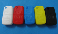 20PCs free shipping VW silicone key cover CASE FOR 3 button shell car key fob shell blank