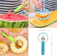 New Cute Practical Fruits Cutter Peeler Spoon Melon Baller Dig Gadget Fancy Tools #63295