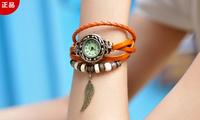Retro belt bracelet watch fashion watch quartz watch