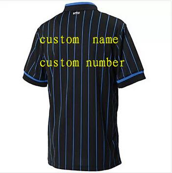 inter jersey Football Shirt 2015 PALACIO KOVACIC ZANETTI ICARDI home soccer Jersey inter 15 soccer quality brand tops t-shirt(China (Mainland))