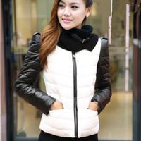 New Women Winter Coat Stand Collar hick Hooded  Zipper Pockets Fashion Slim Winter Parkas Down Jacket  Free Shipping XX685