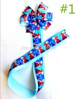 Newest Hair Clip Bow Holder/Frozen Hair Bow Organizer/Elsa Frozen Ribbon Bow Holer Hair Accessories