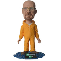 Free Shipping Breaking Bad Walter White Bobble Head PVC Figure New in Box Gift 14cmHot Sale