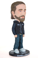 Free Shipping 15cm Bobblehead Sons of Anarchy Jax Teller PVC Figure New in Box Collectible Hot Sale