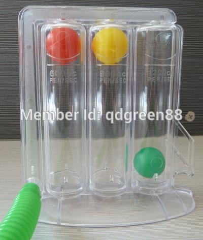 gratis verzending 3 bal respiratoire sporter voor long-en training van de buikspieren(China (Mainland))