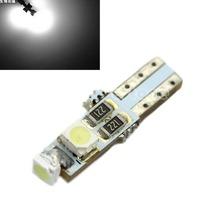 1pc High Brightness Light DC 12V T5 Dashboard Gauge 3 LED Wedge Light Bulb