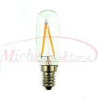 2015 New  2500K Edison T25 2.5W Glass Warm White LED Bulb Lamp E14 Energy Saving Light 200V-240V Free Shipping 5pcs/lot