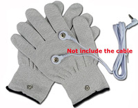 Silver conductive fiber Massage gloves for TENS/EMS for physical therapy Hand Massage Anti-static/Anti-skid electrode gloves