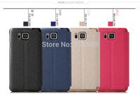 Free shipping 5pcs original BEPAK cases for Apple iPhone 6  ming series Flip leather phone case + Retail box