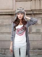 free shipping  NEW Fashion women keep warm Manufacturers selling more warm earmuffs winter hats HYL32