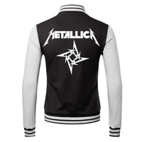 Metal band 2014 new winter men's cardigan sweater personalized rock lovers male coat