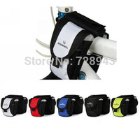2014 New design !!!Roswheel Bag waterproof Frame Front Tube Bag tube double side bag fit all bikes with PVC hot selling 5Color