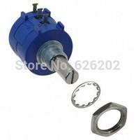 Free shipping 5PCS 3590S-2-502L 5k ohm Rotary Wirewound Precision Potentiometer