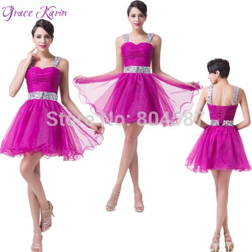 Коктейльное платье Grace Karin Vestido Noite CL6176 вечернее платье grace karin 2015 vestido 75 mermaid evening dresses