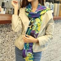 Fashion Lady Girls Multi-Style Vintage Long Soft Chiffon Scarf Wrap Shawl Stole Scarves Silk Scarf Women#65907