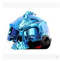 M star MASEI electric motorcycle helmet 489 wild skeleton demons half helmet