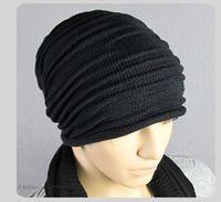 Brand 2014 New Women's Cotton Hip Hop Warm Beanie Cap Winter Autumn Women Knitted Hats Men Beanies Free Shipping