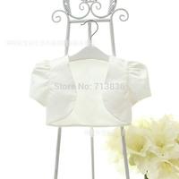 Wedding party baby girls short sleeve coat children clothing     AA406CN-18