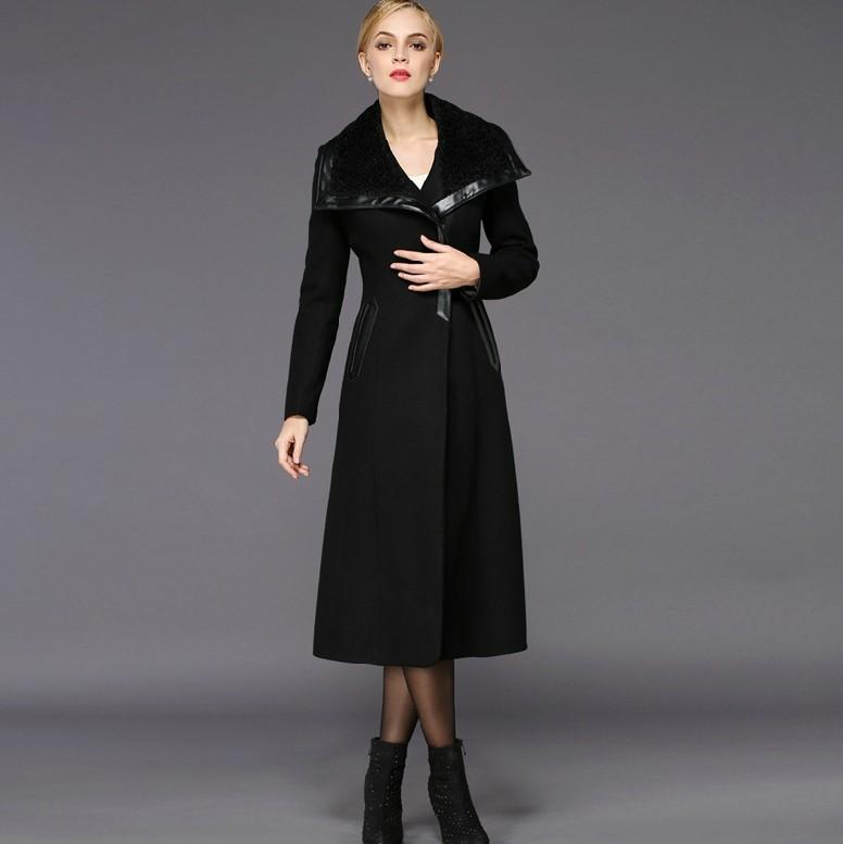 Long Wool Coats Women
