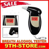 70069  Key Chain Alcohol Tester, Alcohol Breath Analyzer, Digital Breathalyzer