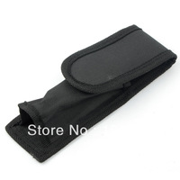 Free Shipping UltraFire Flashlight Torch Holster Cover Bag Fits Torches Black C8 Pouch L0325