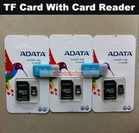 Wholesale 4gb Memory Card 8gb Micro SD Card 32gb Class 10 16gb Flash Card With Card Reader 50PCS/lot