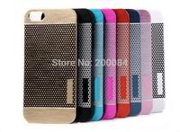 10x For iphone 4 4s phone cases polka dots aluminum metal hard plastic case cover capa carcasa funda housse coque Custodia kryty