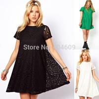 2014 Spring Summer Women New Fashion Vintage Bohemian Lace Dress Plus Size Dress Party Evening Elegant Club Vestidos