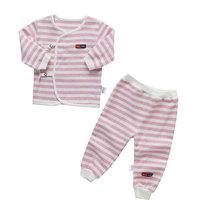 2014 Newborn baby clothes cotton pajamas, children's underwear suits of the girls stripe