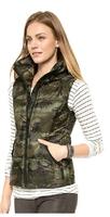 XS-XXL 2014 New Vest Of Women Fashion Camouflage Sleeveless Down Vest In The Army Turtleneck Slim Down Vest Winter