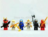 Decool 0011-0016 Ninja 3 Generations DIY Building Block set classic toys Compatible With Lego  T93