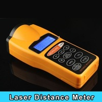 New arrival CP-3007 Handheld LCD ultrasonic Laser Distance Meter Measurer up to 18 Meter or 60Range for construction building