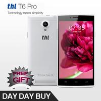 "Original 5.0"" THL T6 Pro T6s pro phone with Android 4.4  MTK6592 Octa Core 1GB RAM 8GB ROM,Rear camera 8MP 1280x720p smartphone"