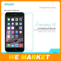 "Wholesale 200Pcs/lot Genuine Nillkin Amazing 9H Tempered Glass Screen Protector Film For Apple Iphone 6 Plus 5.5"" Factory PRS"