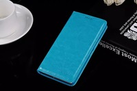 Huawei honor 3x g750 leather case,Vpower for honor 3x case with retail packing,black, red and blue color Free shipping