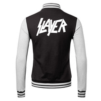 slayer  2014 new winter men's cardigan sweater personalized rock lovers male coat
