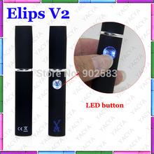 wholesale eLips V2 E cigarette 360mAh Battery huge vapor with Wax Atomizer eLips fat e-cigarette DHL free 10pcs/lot