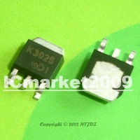50 PCS 2SK3025 TO-252 K3025 Silicon N-Channel Power F-MOS FET