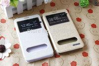 2 pcs flip case Lenovo A850 case cheap Lenovo A850 leather case high quality for Lenovo A850 phone Free shipping W