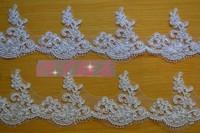 8 cm wide eyelash car bone lace wedding dress lace wedding dress accessories