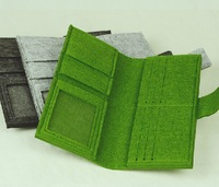 Wholesale free shipping wallet wool-material wallet  special wallet