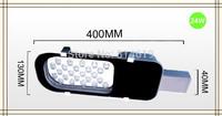 AC220V Led Street / Road Lights Lamp 24W 24LEDS Warm White/ Cool White Outdoor Lighting Streetlight 10 PCS/LOT