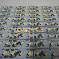 Free shipping 10M 20PCS 12V 0.5M 3014 White LED 84LEDs rigid Hard Light Bar Strip Super Bright  with tracking number